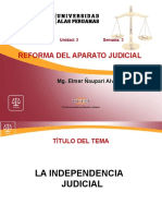 3. Independencia Judicial