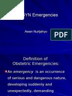 Kuliah Obgyn Emergency