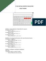 GATE Virtual Calculator