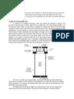 Oxygen Gas Permeability Test