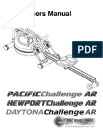 First Degree Pacific Challenger AR Rower