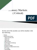 Primary Market