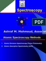 Atomic Absorption Spectroscopy and Atomic Emission Spectroscopy