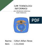 Hukum Teknologi Informasi