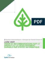 Livre Vert Greenit 280509