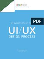 UI UX DesignProcess ZohoInventory Web
