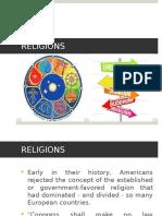 7 US Religions