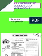 Sesión 5 Estrategias Adquisición Información 2