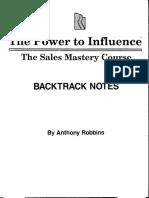 Anthony Tony Robbins - The Power to Influence