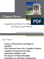 Liquidity and Reserve Management