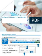 BUPA-How to Register Online