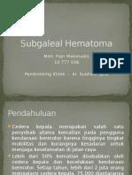 Subgaleal Hematoma