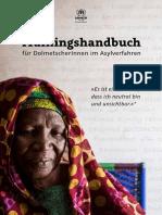 Trainingshandbuch Fuer DolmetscherInnen Im Asylverfahren