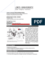 design design process journal brief