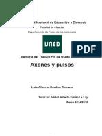 Tfg-Axones y Pulsos-luis Cordon