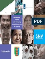 Snv Indonesia Rural Sanitation Brochure Bahasa Indonesia