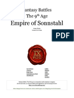 The Ninth Age Empire of Sonnstahl 0 10 1