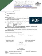 Contoh Surat MUBES Fix