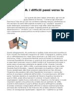 La Politica Degli Stati Uniti Riguardo Alle Altre Nazioni Americane