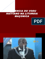 Influencia Do Vodu Na Lutirgia Maçonica No Haití