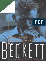 158853410 the Grove Companion to Beckett