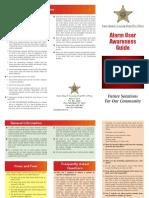 Tips for Avoiding False Alarms