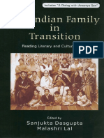 the indian family in transition reading literary and cultural texts