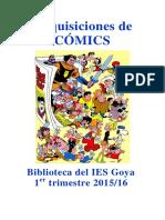 Adquisiciones Comics