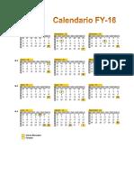 Calendario Fy-16 Damariz