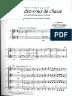 Le Rendez Vouz- Cuarteto Trompas