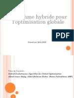 Algorithme hybrid pour une optimisation globale
