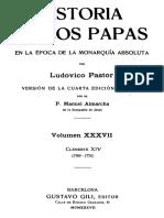 PASTOR-Historia de los Papas 37
