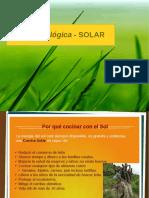 Presentación Cocina Solar Sep 2015