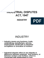 Industrial Disputes Act, 1947