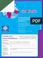 100 Questions en Entretien Les Plus Posees en Entretien 18 Janvier 2010