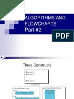 Algorithms and Flowcharts II