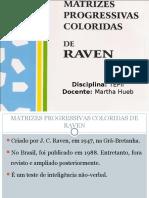 RAVEN Matrizes Coloridas