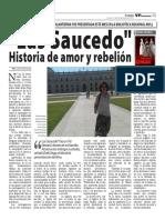 """Las Saucedo"" de  Zoila Vega Salvatierra"