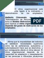Clima y Motivacion Organizacional.ppt