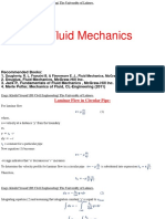 Advance Fluid Mechanics Lectures 7-8