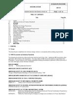 KBR Design Specification - Building Design A40-1D - APR 2003