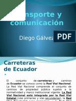 Transporte y Comunicación Ecuador