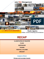 Impacts of Disasters (for Students)