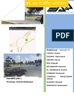 Projet Trafic Urbain 2014 2015 G3