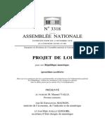 Projet de loi pour une République numériqu