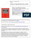 Bailey 2011 Migrant African Women- Tales of Agency Belonging