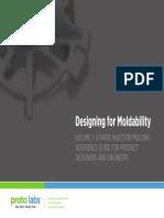 Designing for Moldability