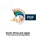 South Africa-Japan Science and Technology Relations