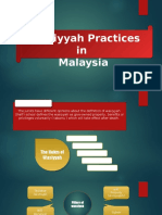 Wasiyyah Practices in Malaysia
