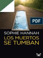 Los muertos se tumban - Sophie Hannah (1).pdf